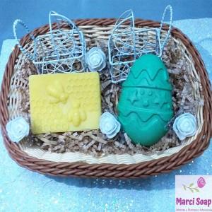 Pack de 2 Jabones de Avena y Miel - Jabones para bebés y niños