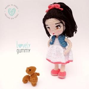 Mi pequeña Mia - Lovelygummy - Muñeca personalizable