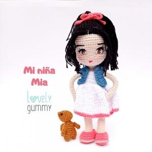 Mi pequeña Mia - Muñeca personalizable - Lovelygummy