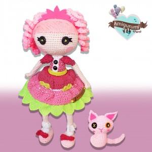 Lalaloopsy - Amigurumi Crochet - Regalo para niñas