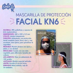 Mascarilla de Protección Facial KN6