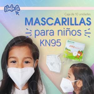 Mascarillas KN95 para Niños y Niñas