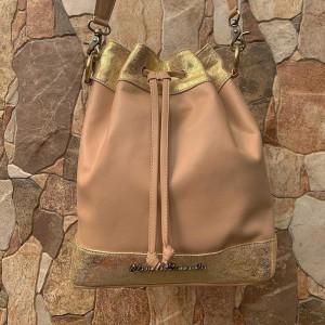 Bucket Bag - Bolso de Dama - Color Palo Rosa