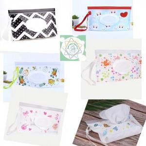 Bolsa Porta Pañitos Húmedos - Accesorio para higiene de bebé