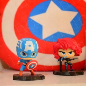 Muñecos de colección Marvel - Decoración