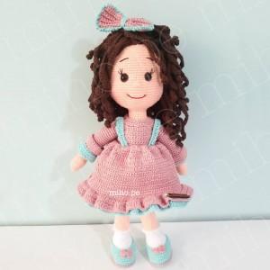 Muñeca Isabelle - Amigurumi Crochet
