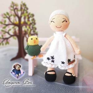 Muñeca Nonita - Amigurumi Crochet