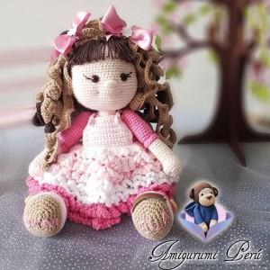 Muñeca Curly - Amigurumi Crochet
