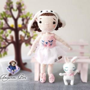 Muñeca Emilia - Amigurumi Crochet