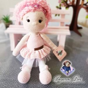 Muñeca Tammy Bailarina - Amigurumi Crochet