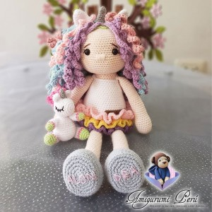 Muñeca Unicorn Girl - Amigurumi Crochet