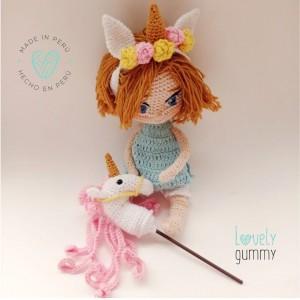 Mi bebe Luz - Muñeca personalizable - Lovelygummy