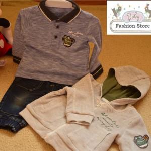 Outfit para Bebé Niño - Conjunto de 3 piezas - Ropa para bebés de 6 a 9 meses