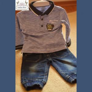 Conjunto 2 Piezas - Polo y Pantalón - Ropa para bebés 6,9 meses