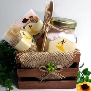 Jabón y Sales Exfoliantes Aromáticas - Incluye Cucharita dosificada