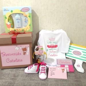 Caja Baby Shower - Set Recién Nacido Personalizado Premium - Ropa de Bebé