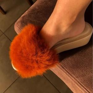 Sandalias para dama - Piel de alpaca huacaya