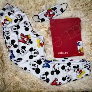 Pijamas de Mickey Mouse