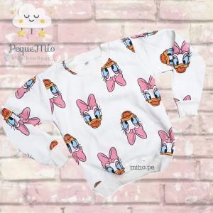 Polera con diseño daisy - Ropa para niñas - Talla 12-14