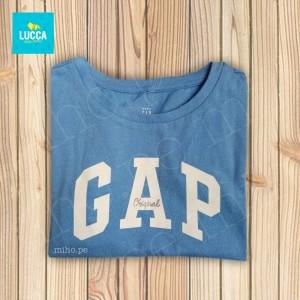 Polo manga corta azul GAP - Atuendo Sport - Ropa para niñas talla 2