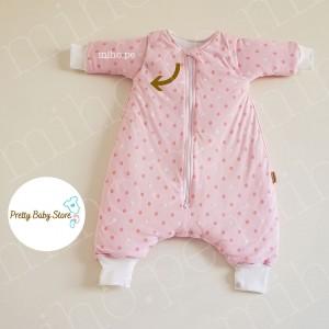 Saquito de dormir para bebés de 6 a 12 meses