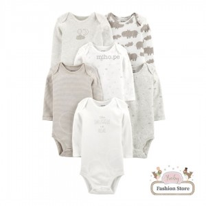 Set 6 bodys niños Carters - Ropa para bebés de 18 meses
