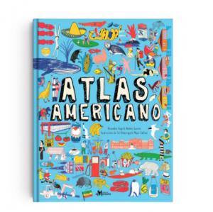 Atlas Americano - Libro para Niños 8 años a más