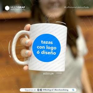 Taza Blanca Recta 11oz - Personalizada con tu nombre, foto, frase o logotipo - Merchandising