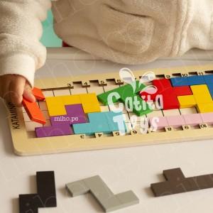 Tetris de Madera - Juguetes para niños