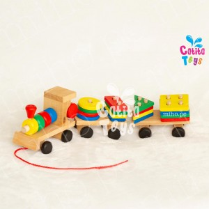 Tren de Encaje Grande - Juguetes para niños