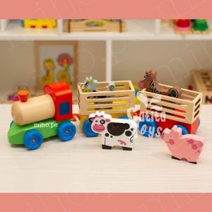 Tren con animales - Juguetes para niños