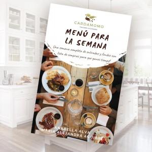 Recetario Menú Semanal - Recetas Ricas y Saludables - Formato Digital