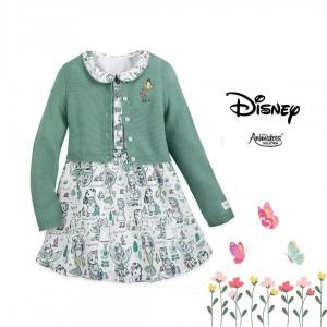 Vestido y cárdigan de la colección Disney Animators