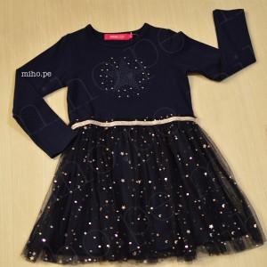 Vestido Estrella - Ropa para bebés - Talla 4 a 8