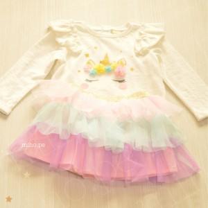Vestido Unicornio - Ropa para bebés de 12 a 24 meses