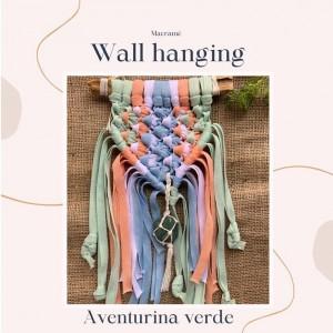 Wall Hanging Aventurina - Tejido a mano Macramé