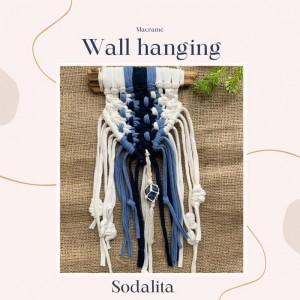 Wall Hanging Chakra - Tejido a mano Macramé