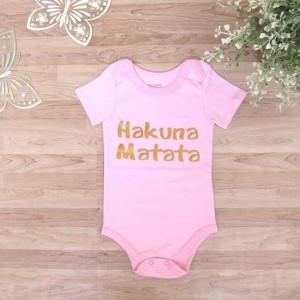 BODY HAKUNA Rosado - BABY OLIVER