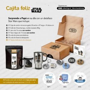 PAPÁ 2021 - Cajita Feliz Star Wars