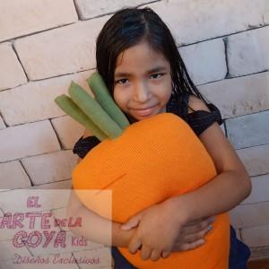 Cojín de Zanahoria