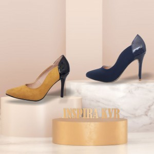 Stilettos en tendencia - Color Mostaza
