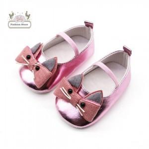 Balerinas Gatita - Color Rosado - Ropa para bebés de 3 a 12 meses