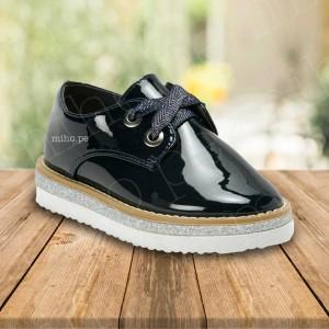 Zapatillas Navy - Atuendo Elegante - Calzado para niñas talla 29