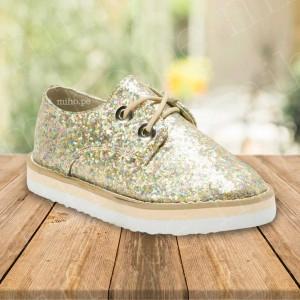 Zapatillas Glitter - Atuendo Elegante - Calzado para niñas talla 29
