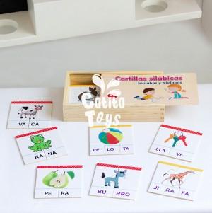 Cartilla Silábica - Niños de 4 años a mas