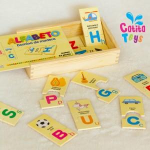 Domino de Alfabeto - Juguete Didáctico