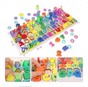 Rompecabezas multifuncional - Juegos didácticos para niños