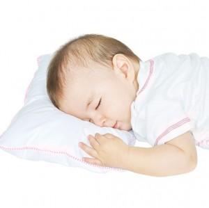 Almohadita Antialergica Para Bebe  - Rosada