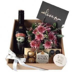 Box Bailyes Floral - Pitsi Regalos