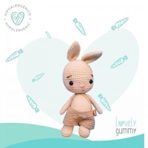 CONEJITO BEBE PUMPKIN- Muñeco de Apego 100% Pima - Lovelygummy